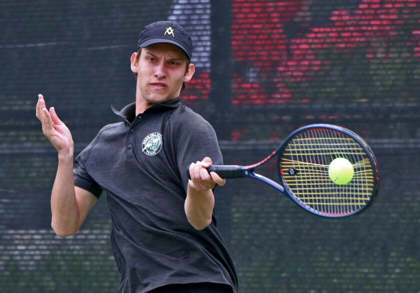 Photo Gallery: Sage Hill vs. Beckman in the CIF Southern Section Division 1 boys' tennis championship match