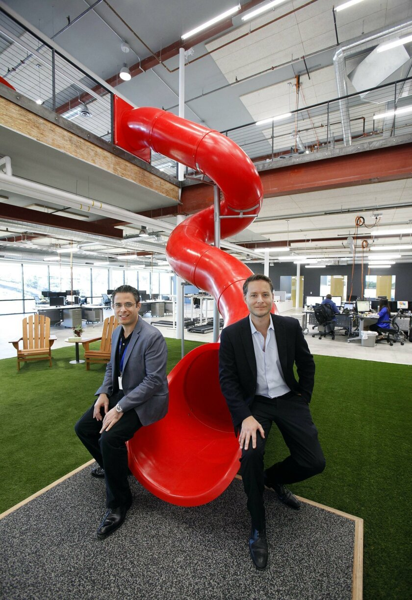 "They hope their ""cool"" office will attract and retain tech workers."