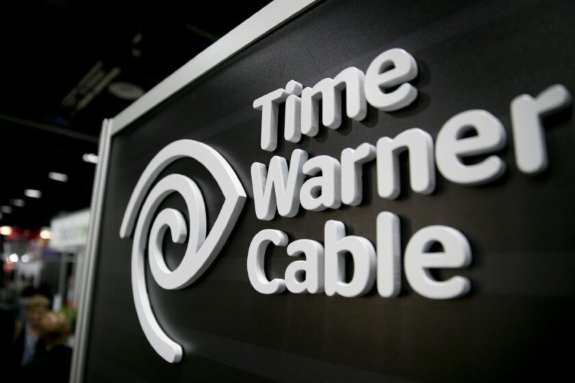 Time Warner Cable logo.