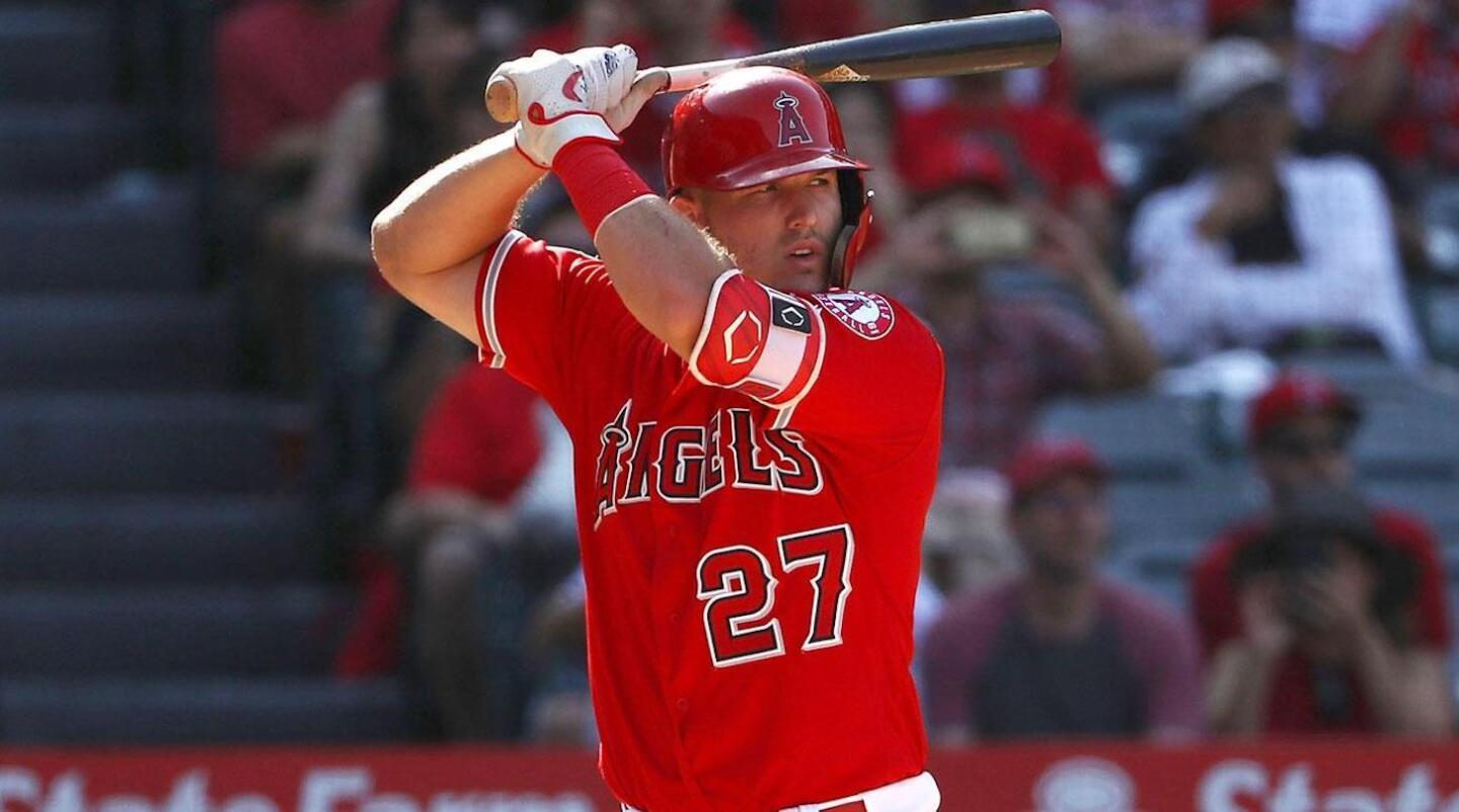 1) Mike Trout