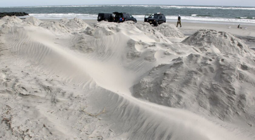 Shore protection: Sandy leaves congressional debate in its wake