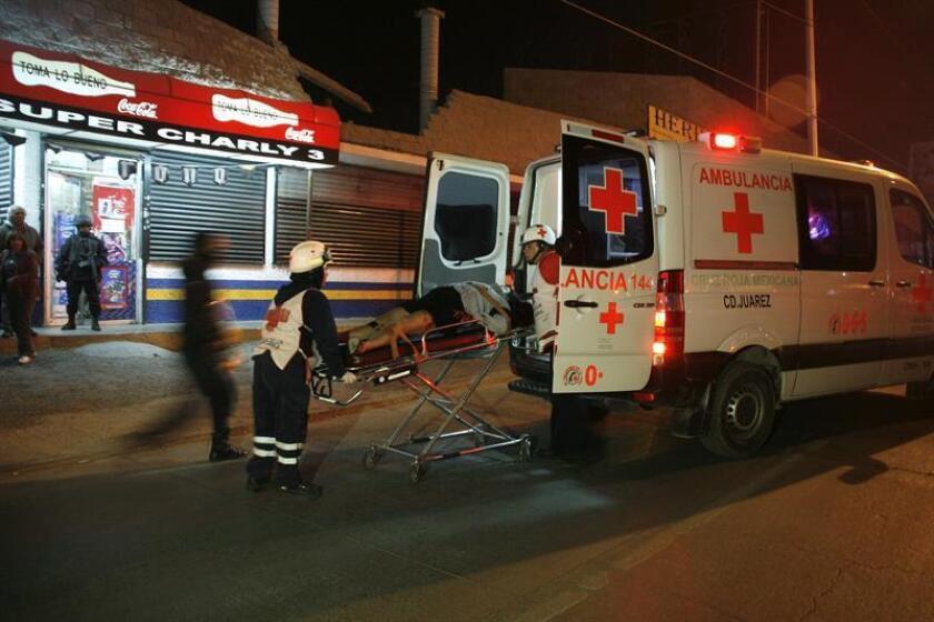 Un grupo armado atacó hoy a tiros a clientes, empleados y músicos de un bar del oriental estado mexicano de Veracruz, dejando un saldo de dos muertos y cuatro heridos, informaron fuentes policiales. EFE/ARCHIVO