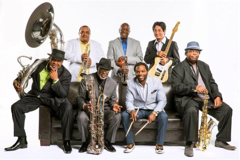 Dirty Dozen Brass Band. Chris Monaghan photo
