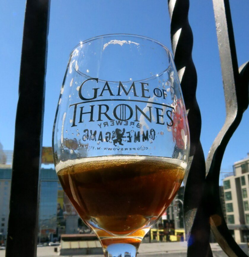 A toast of Fire and Blood.