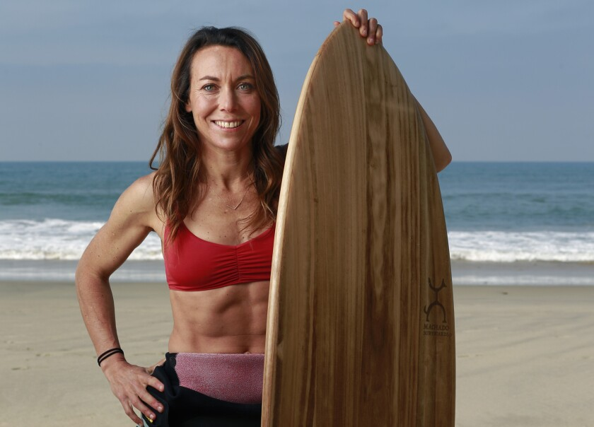 Shelby Stanger is a La Jolla High grad and lifelong adventurer who runs, surfs, paddleboards, hikes and does yoga.