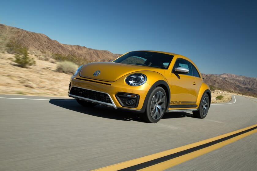 2016 Beetle Dune review