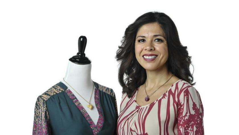 Lizbeth Chavez is owner of Paper Doll Boutique & Scissors. (Rick Nocon)