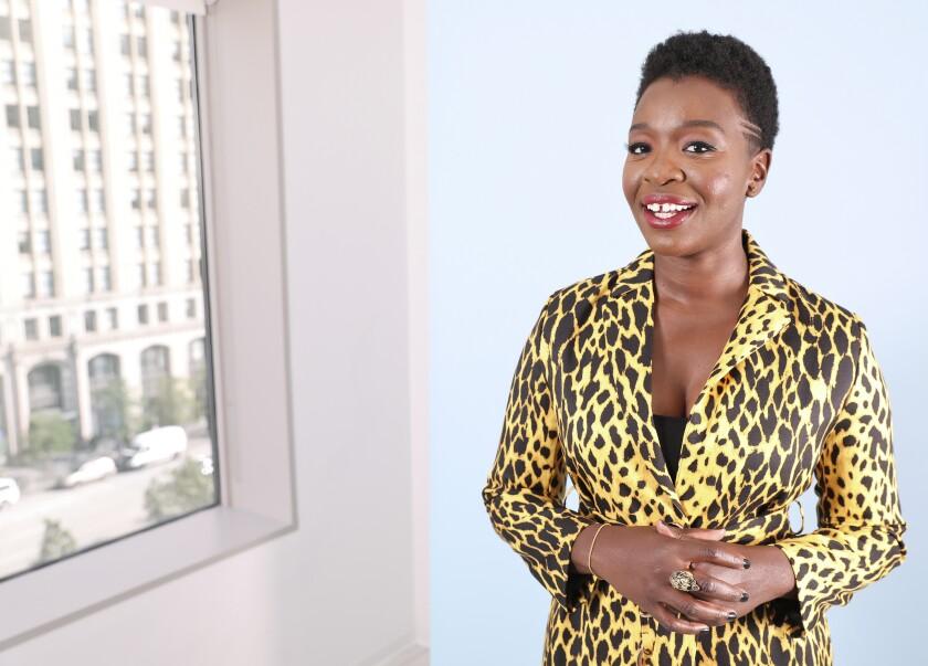 Folake Olowofoyeku Portrait Session