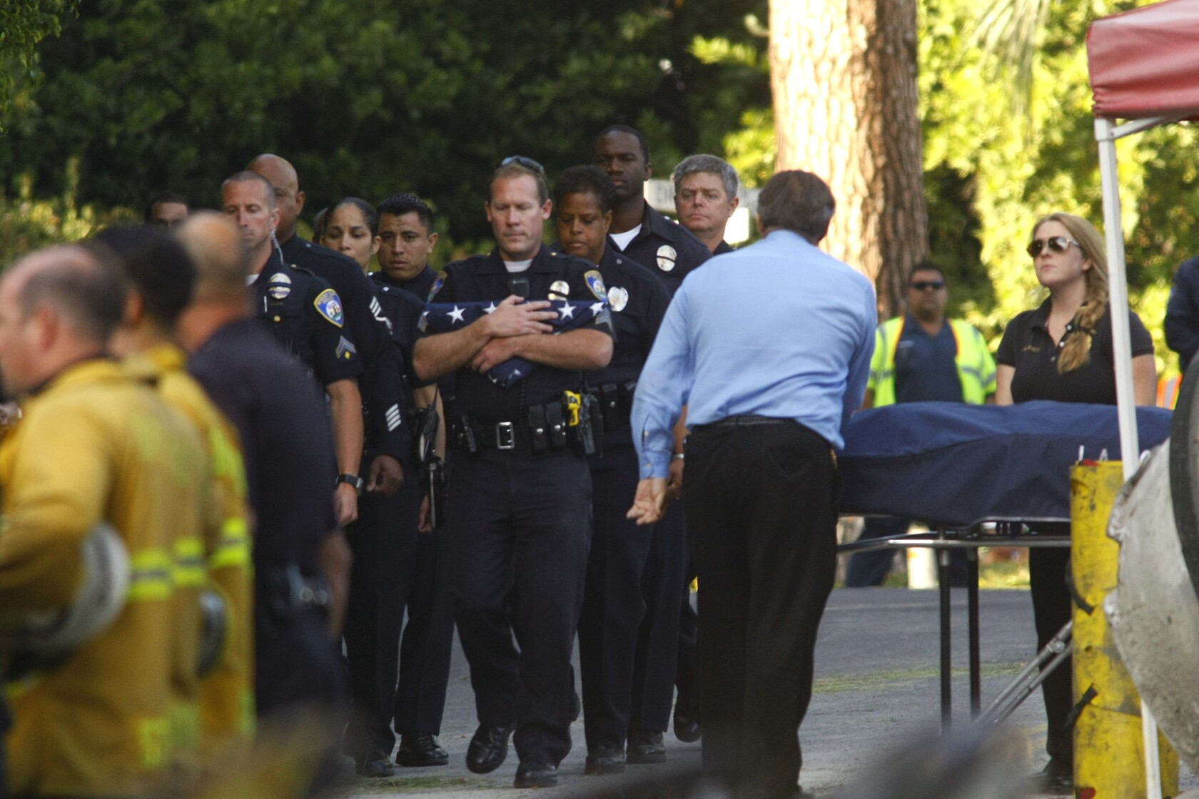 L A  police detective killed in another Loma Vista Drive
