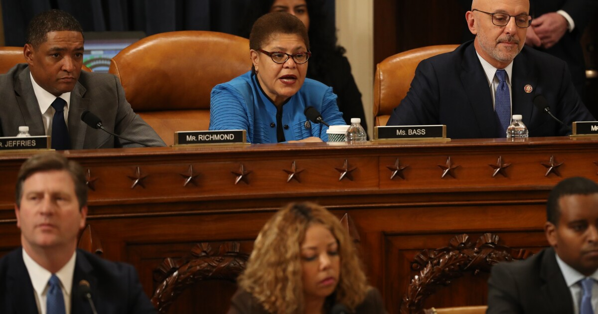 Caring, competent, progressive: Karen Bass is the perfect VP