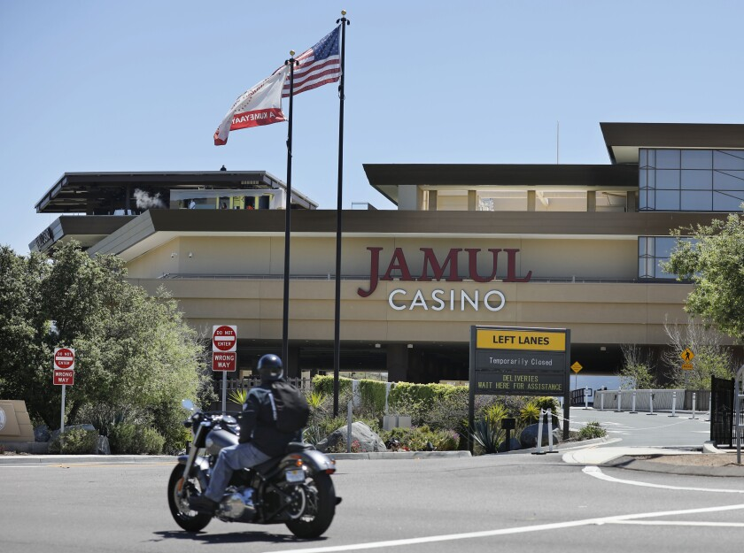 The Jamul Casino on the Jamul Indian Reservation