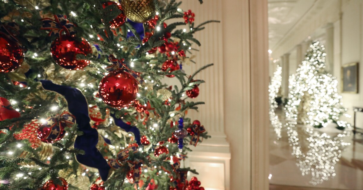 This year's Christmas theme at the White House: Patriotism