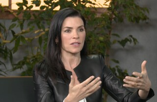 Julianna Margulies refuses to 'apologize for taking up space in this world' as a woman