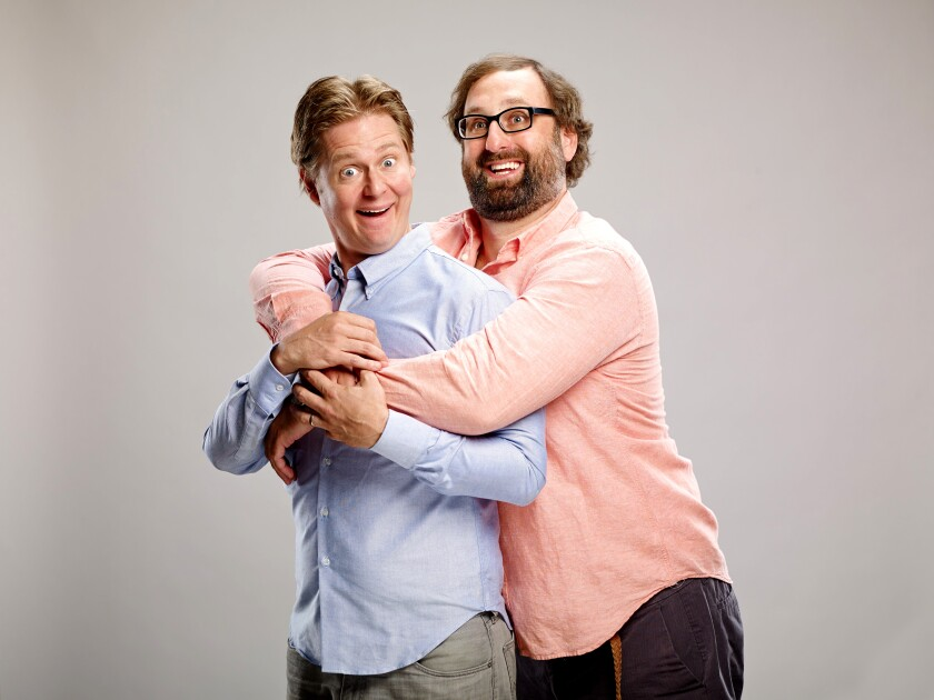 Comedy duo Tim & Eric open their Mandatory Attendance tour in San Diego