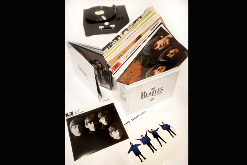 Review: Is 'The Beatles in Mono' necessary? Yes and no  - Los