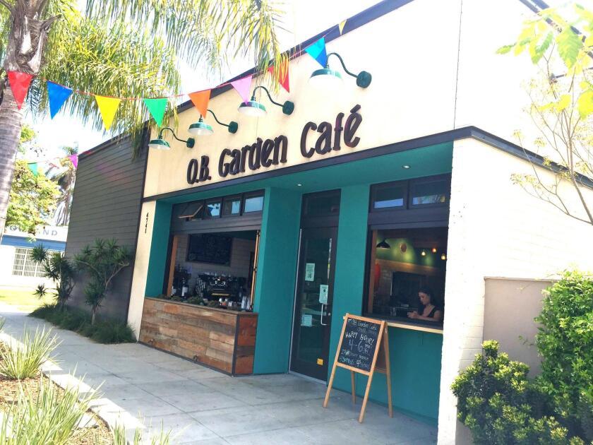 Ocean Beach Garden Café is at 4741 Voltaire St. (619) 255-1193. obgardencafe.coop