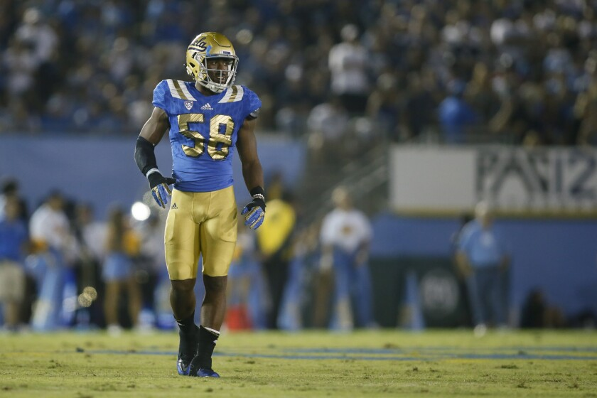Deon Hollins says UCLA is battling two opponents: the other team and officials