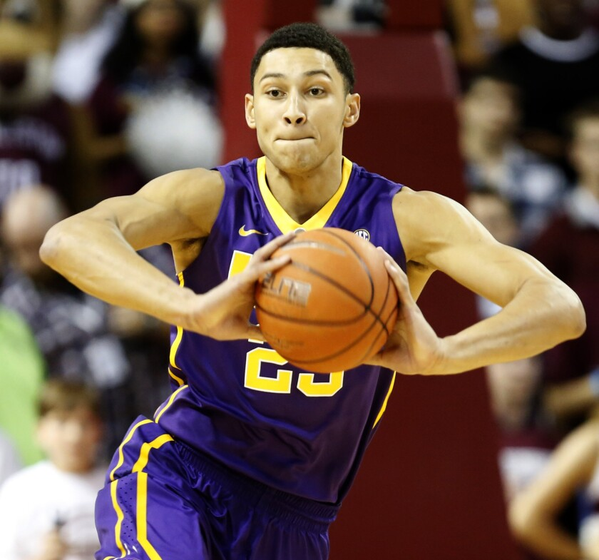 Louisiana State forward Ben Simmons is surely on the Lakers' radar. He could be the No. 1 pick in the 2016 draft.