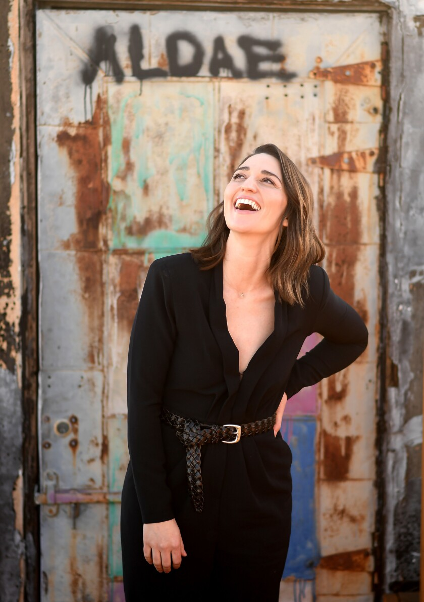LOS ANGELES, CALIFORNIA MARCH 18, 2019-Singer Sara Bareilles. (Wally Skalij/Los Angeles Times)
