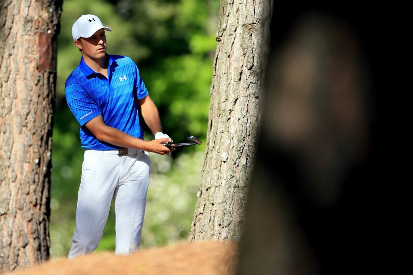 Jordan Spieth is still learning to control his thoughts and emotions