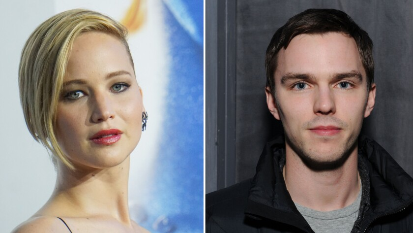 Jennifer Lawrence, Nicholas Hoult split