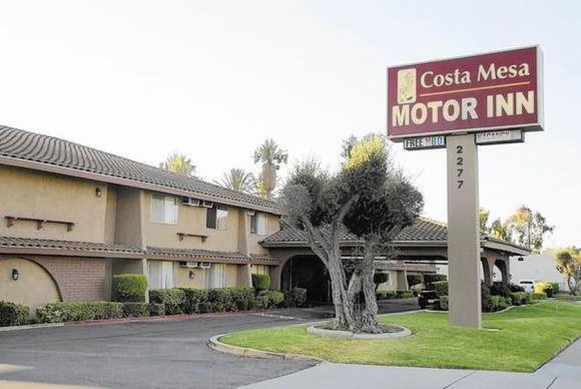 The owner of the Costa Mesa Motor Inn on Harbor Boulevard is working to vacate the remaining long-term tenants in hopes of closing it soon. An apartment development approved for the site is facing legal hurdles.