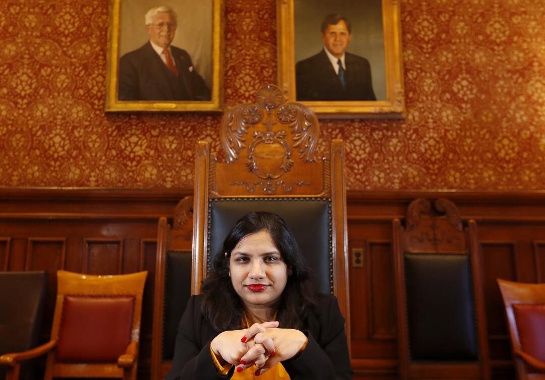 Sumbul Siddiqui is the mayor of Cambridge, the hometown of presidential candidate and U.S. Sen. Elizabeth Warren.