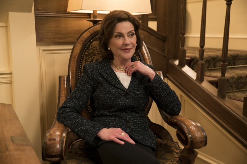"Kelly Bishop as Emily Gilmore in the Netflix reboot of ""Gilmore Girls."""