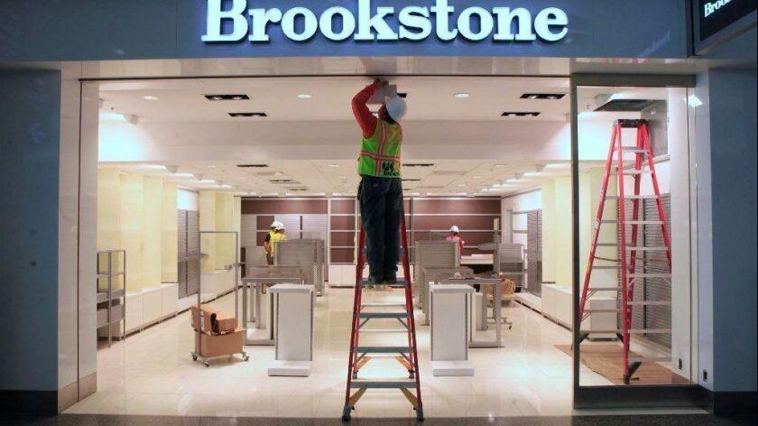 A Brookstone shop in Sacramento.
