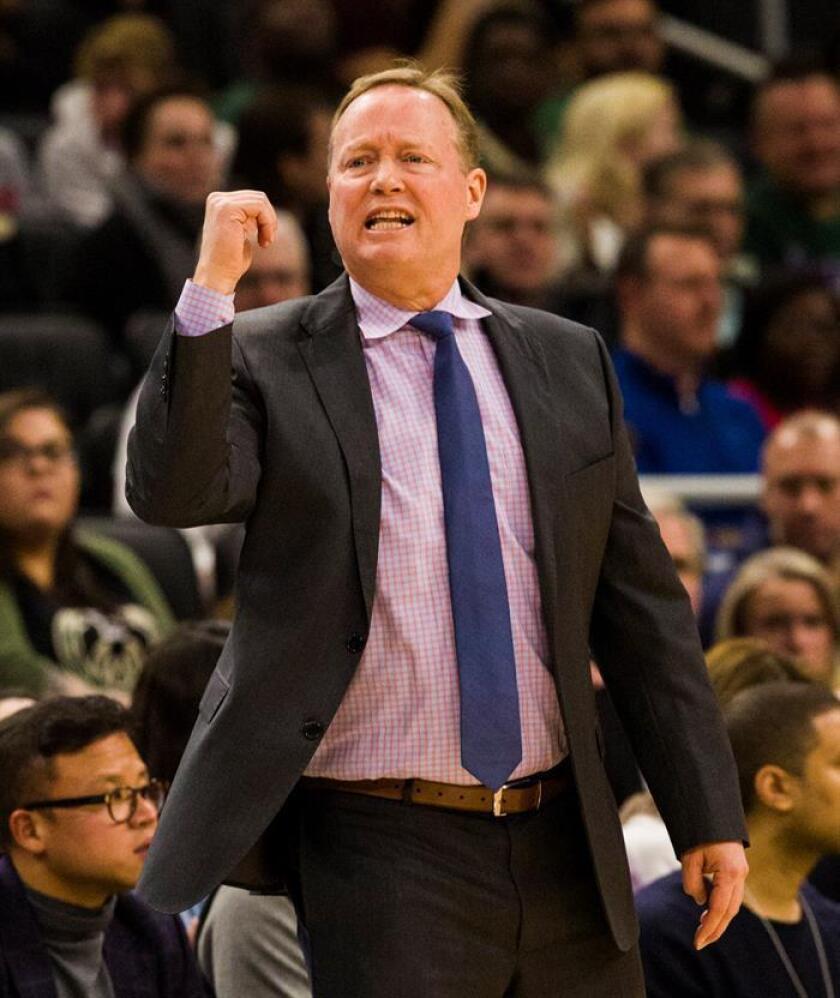 El entrenador de los Milwaukee Bucks, Mike Budenholzer. EFE/Archivo
