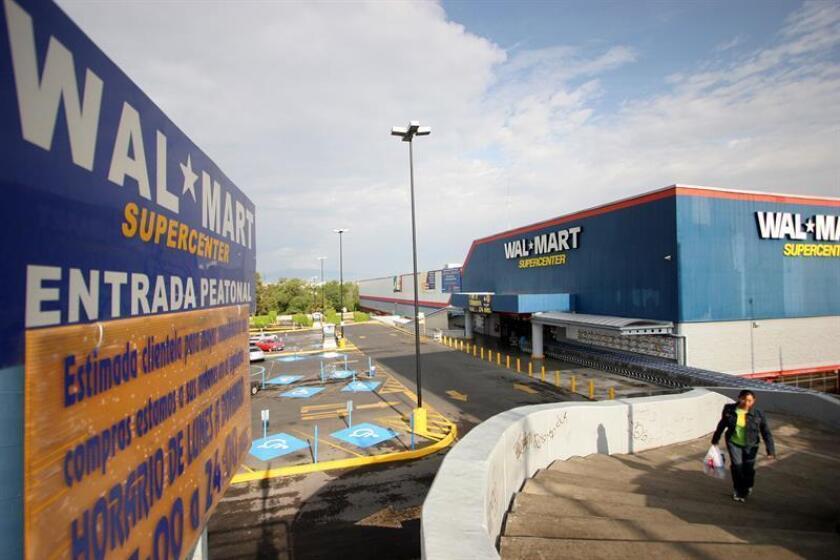 Vista de una tienda trasnacional Wallmart. EFE/Archivo