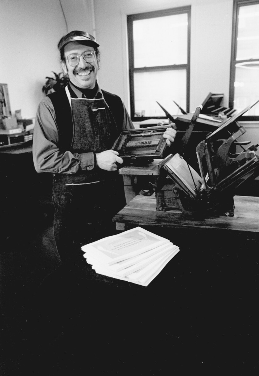 Allan Kornblum, founder of Coffee House Press, died Sunday of leukemia at the age of 65.