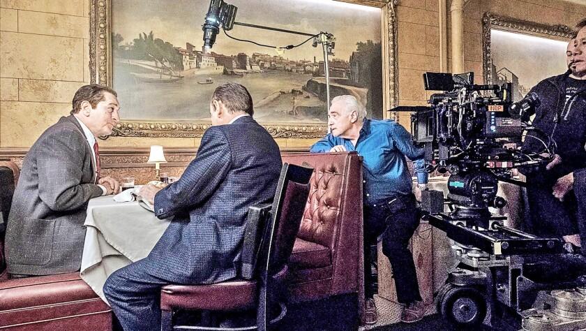 Una escena de la película de Netflix que dirigió Martin Scorsese.