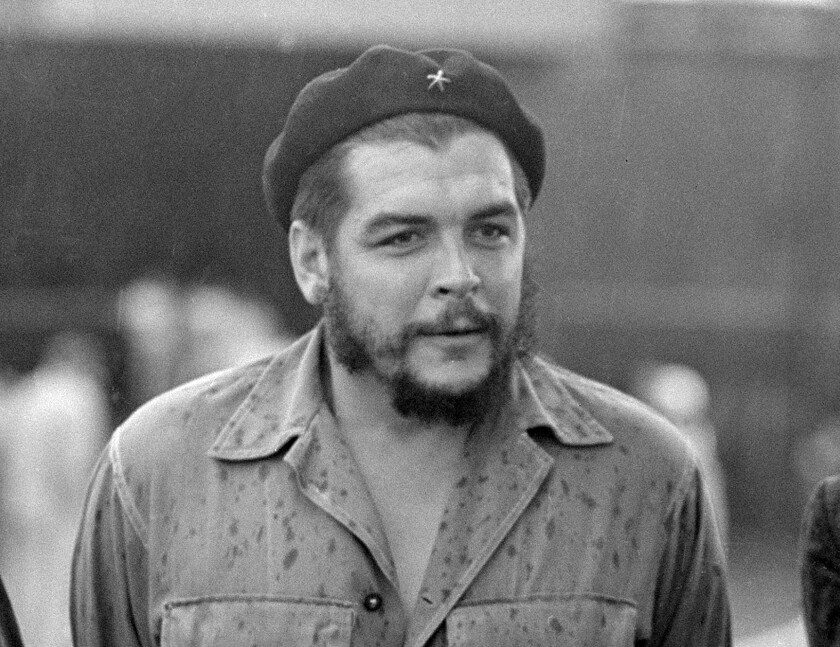 """FILE - This June 12, 1962 file photo shows Cuban revolutionary leader Ernesto """"Che"""" Guevara in Havana, Cuba. A book of letters by Ernesto Che Guevara is coming out in English in the Fall of 2021. """"Letters 1947-67"""" will be released in the U.S., Seven Stories announced Thursday, Sept. 19, 2019, and will include an introduction by his daughter Aleida Guevara. (AP Photo/Tony Ortega, File)"""