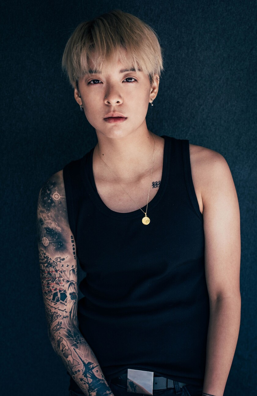 Musician Amber Liu says her first solo tour of the United States is giving her a chance to be a tourist in her own country.