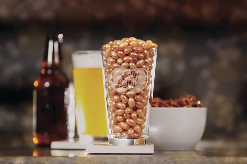 Jelly Belly Candy Co. introduces one of its latest flavors: draft beer.