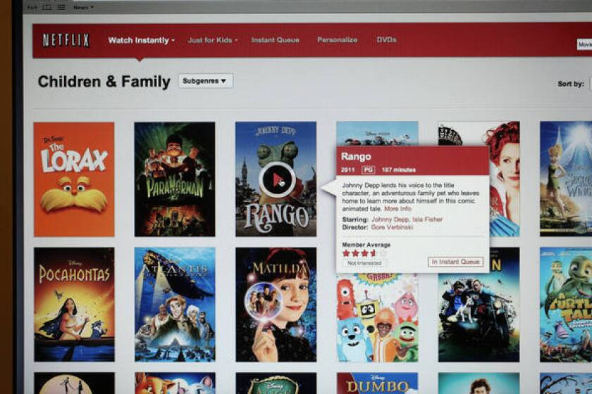 Netflix's streaming video on-demand service is a tough sell among some San Francisco consumers.