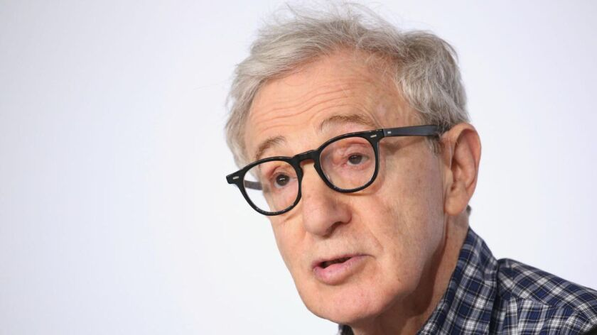FILE - In this May 15, 2015 file photo, director Woody Allen attends a press conference for the film