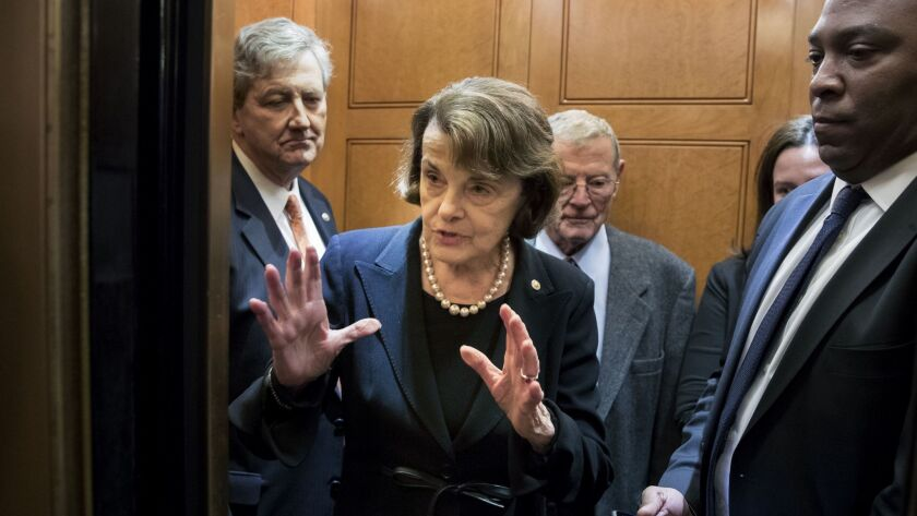 Sen. Dianne Feinstein (D-Calif.), who had appeared ready to side with privacy advocates to scale back a warrantless surveillance program under the Foreign Intelligence Surveillance Act, instead cast a crucial vote to leave the program largely unchanged.