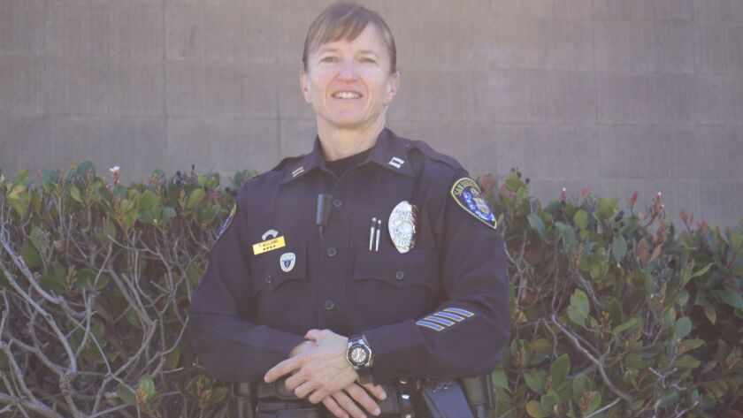 San Diego Police Department Captain Tina Williams has been with the department since 1994.