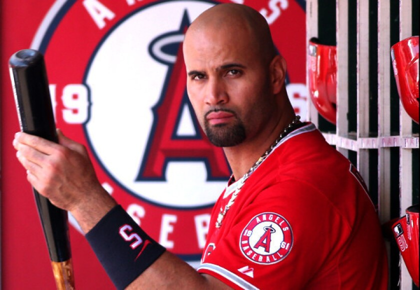 Foot issue could keep Albert Pujols as Angels' DH much longer