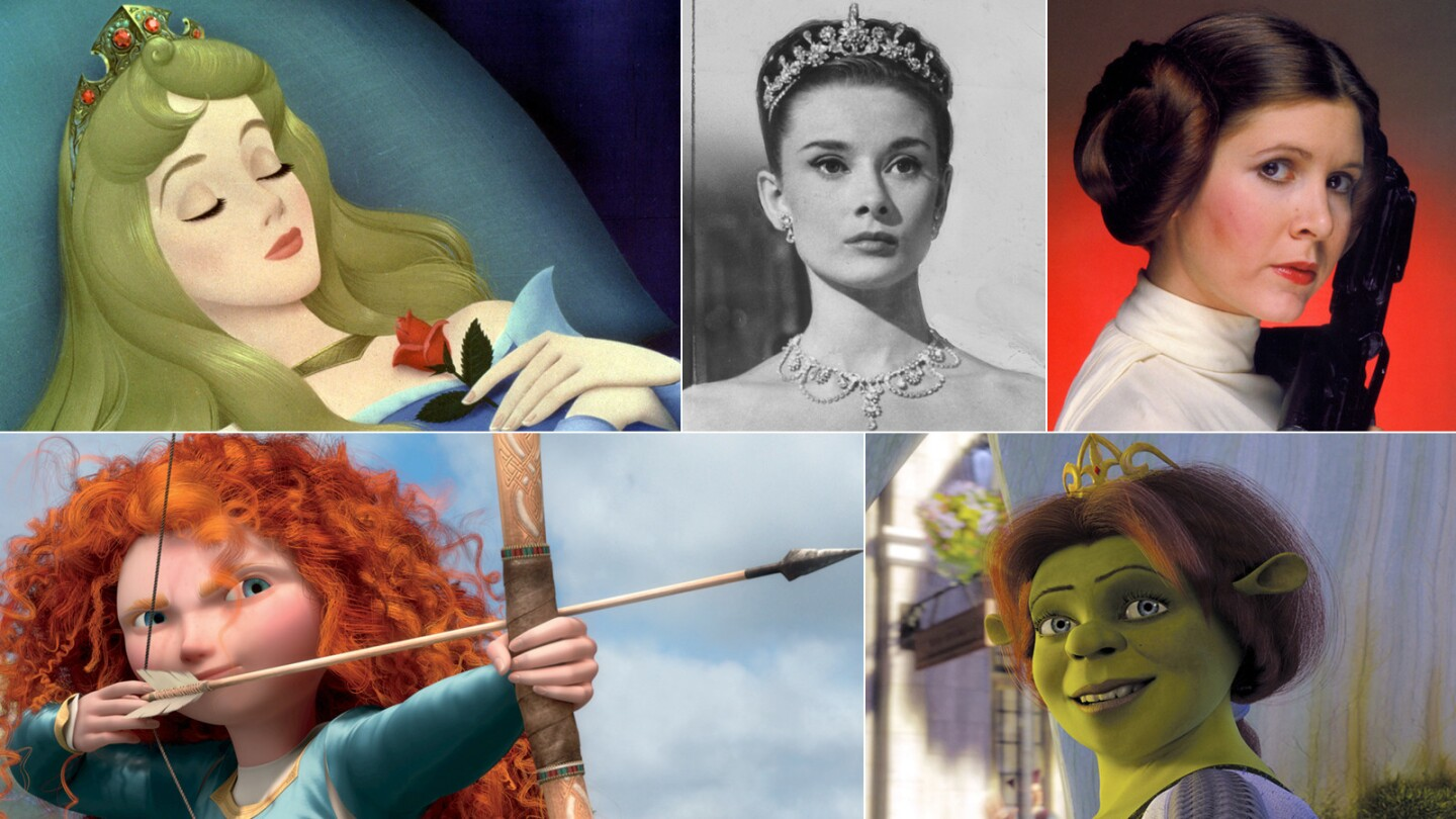 Princesses of the silver screen