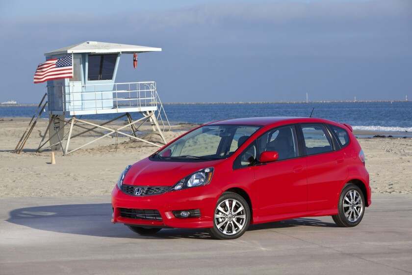 This 2012 Honda Fit Sport is one of 91,920 models from 2012 and 2013 that are being recalled for an issue with the stability control software.