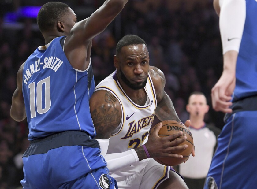 Lakers Lebron James Is Turning 35 But He S Still A Force