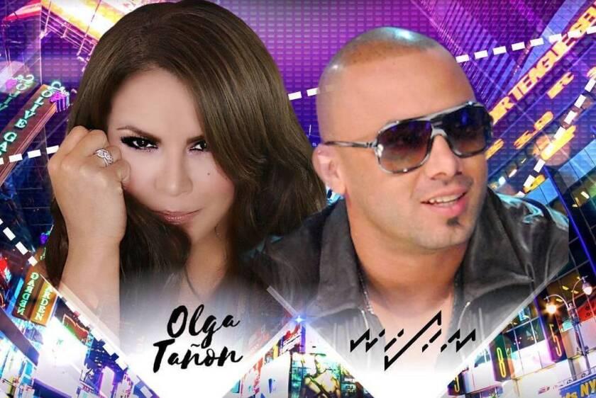 Olga Tañon y Wisin