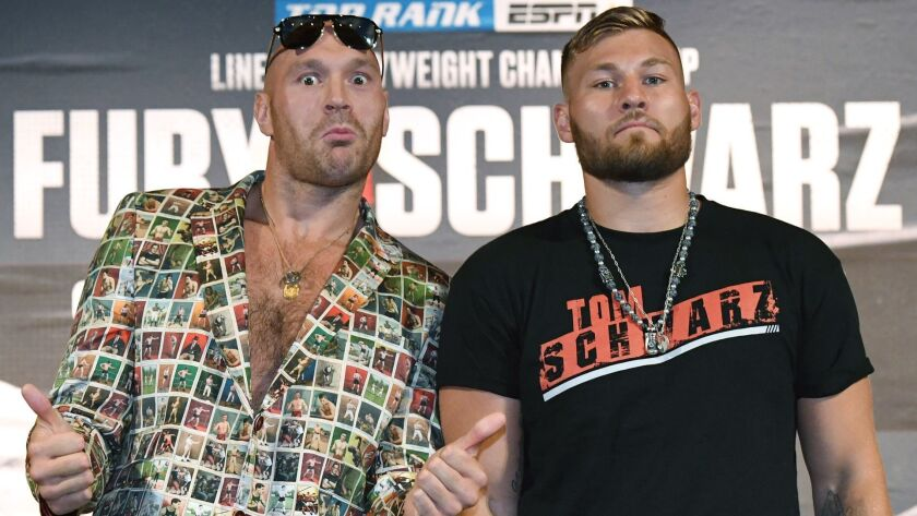 Tyson Fury v Tom Schwarz - News Conference