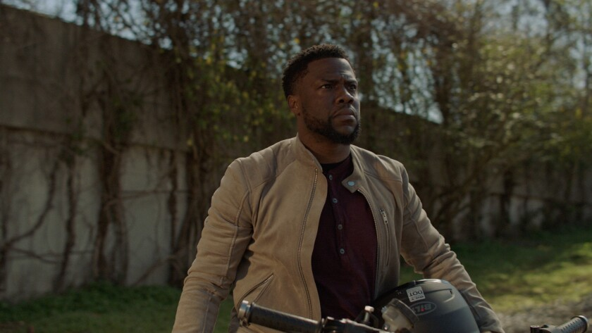 """Kevin Hart is geared up for action-star training in """"Die Hart."""""""