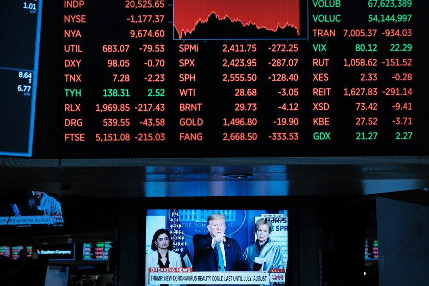 Markets have been falling