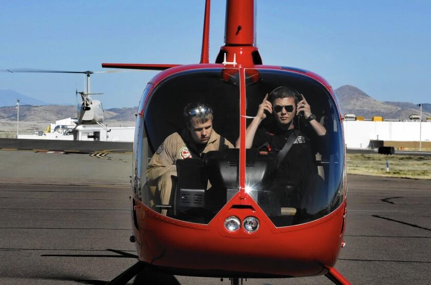 Yavapai Community College helicopter school