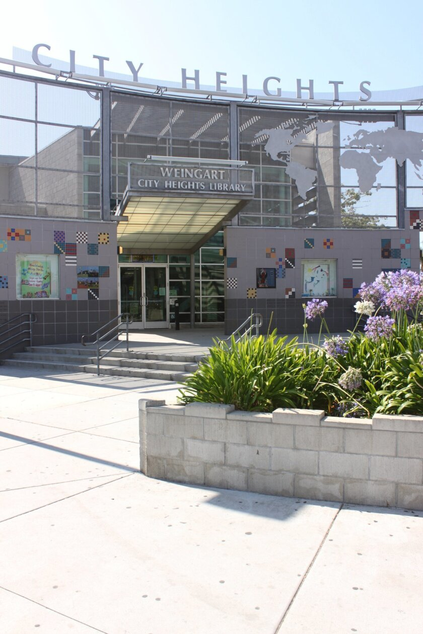 The San Diego Library's City Heights/Weingart Branch is benefitting from a new social equity policy.
